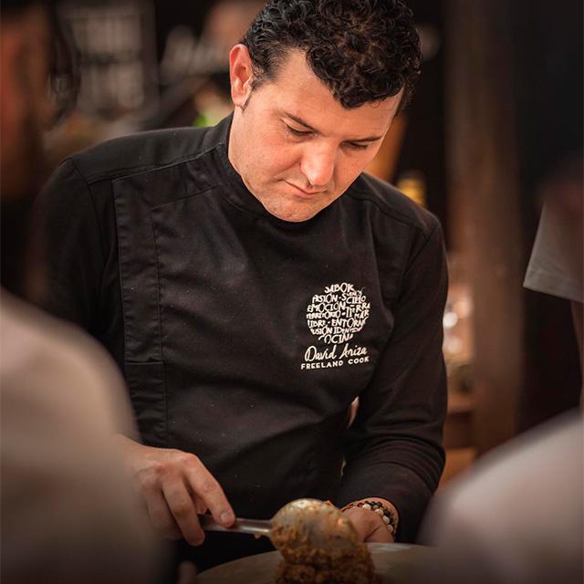 Asesor gastronómico y Profesor de cocina online David Ariza