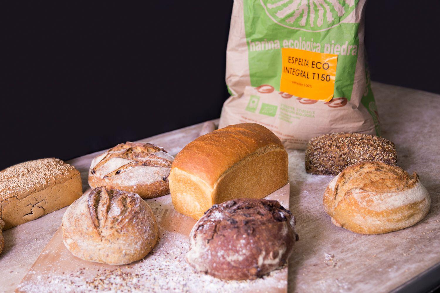 exposición de panes sesion fotográfica para marketing restaurantes