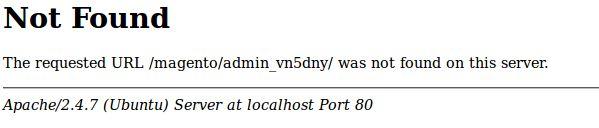 ejemplo de página web de error 404 no personalizada y no optimizada para posicionamiento web SEO