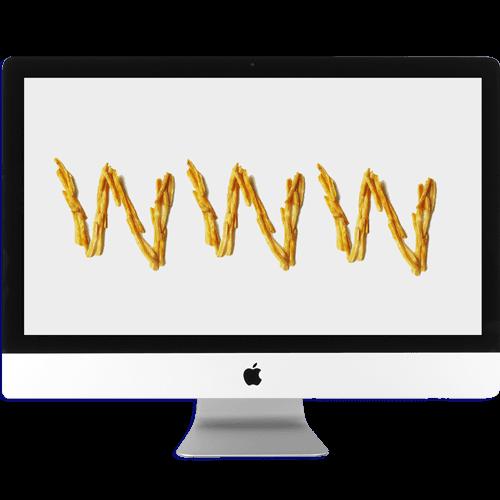 Adorno Oro Rojo Comunicación imagen de Diseño web